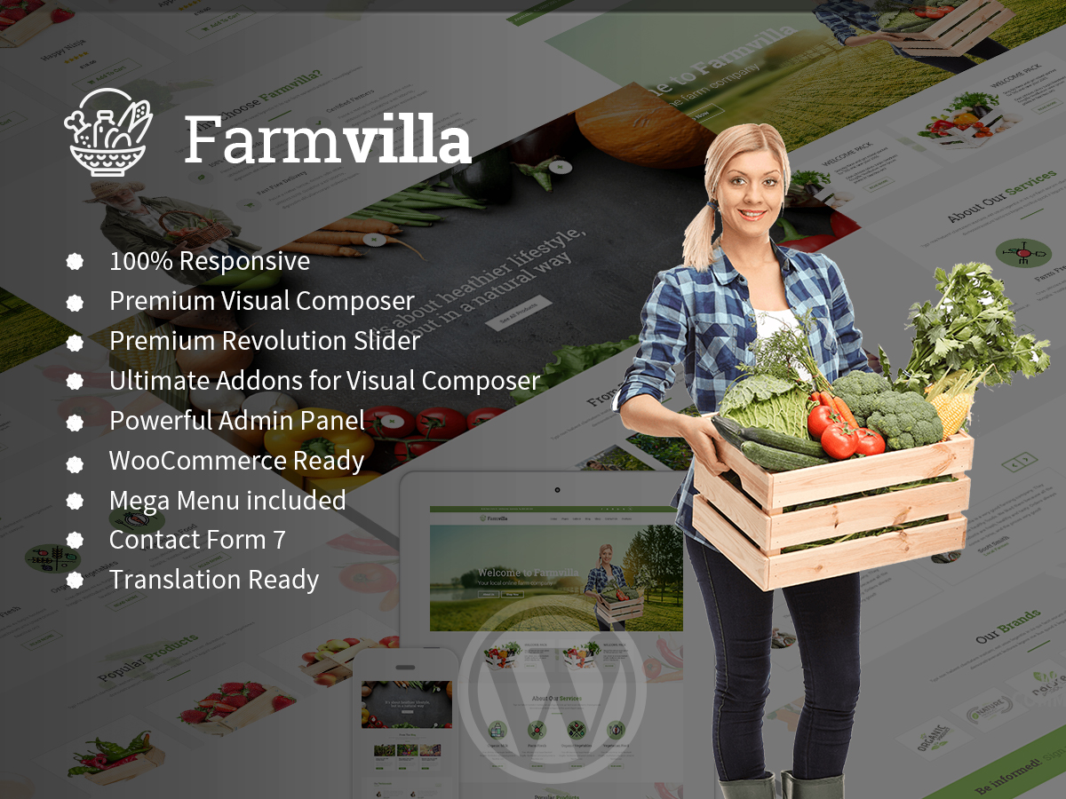 farmvilla organic theme
