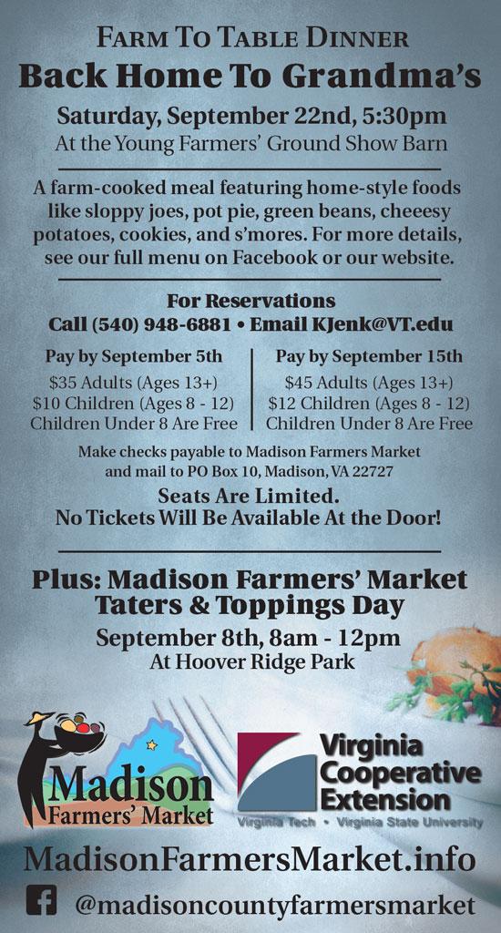 Farm To Table Dinner Back Home To Grandmas Madison Farmers Market - Farmers table reservation